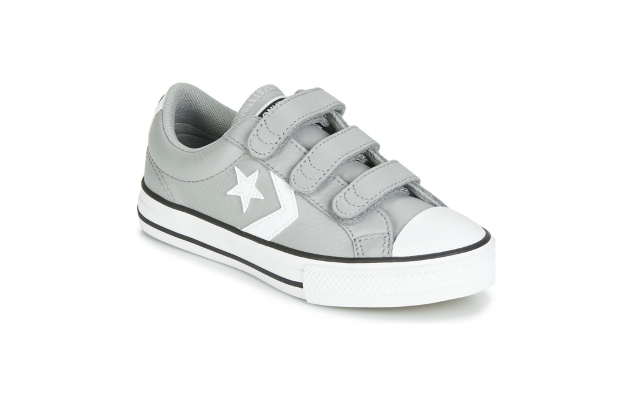 molestarse Encogerse de hombros representante  CONVERSE Converse Star Player EV 3V Leather Kids Trainers - Grey - Children  from Johnsons Shoes UK