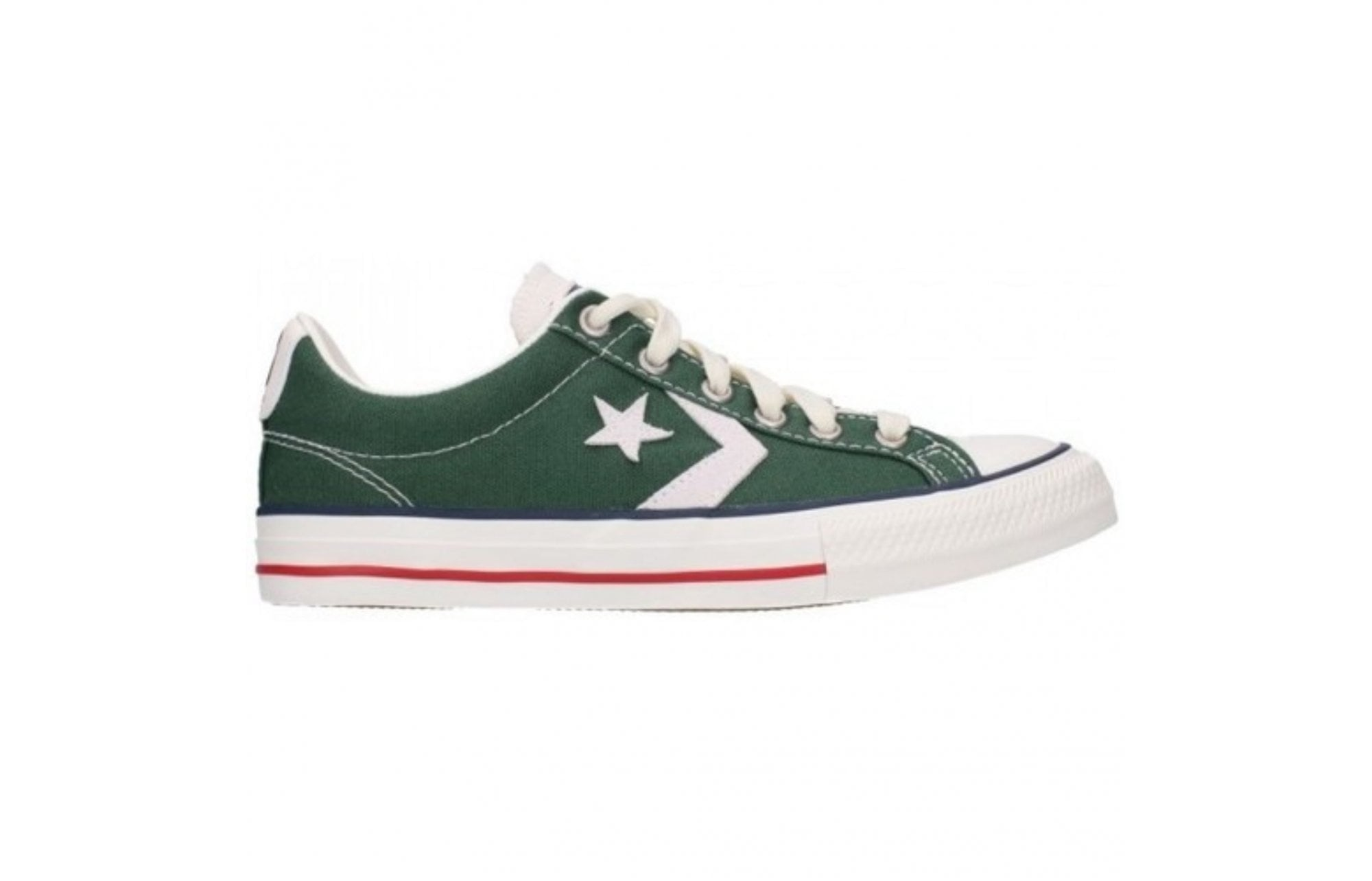 usuario Inseguro discordia  CONVERSE Converse Star Player Youth Trainers - Green - Children from  Johnsons Shoes UK