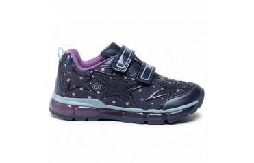 GEOX Geox Android Girls Trainers - Navy