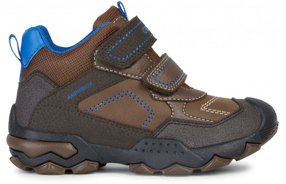 GEOX Geox Buller Boys Boots - Brown - Children from Johnsons Shoes UK