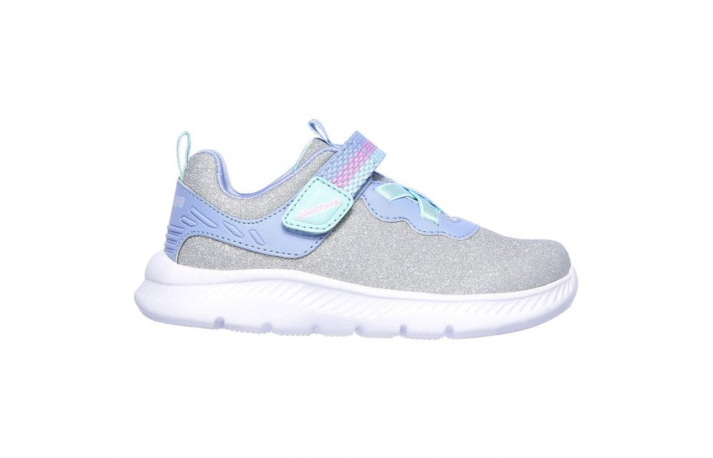 Lucky Sparkles Girls Trainers - Silver